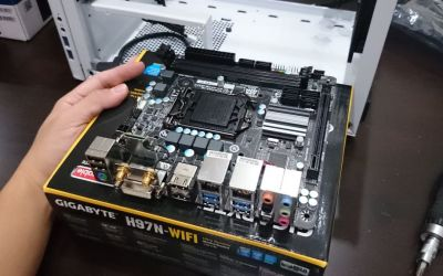 Preparing the motherboard