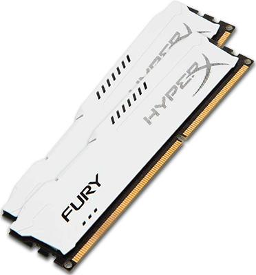 Kingston HyperX Fury 8GB DDR3 1600Mhz (white)