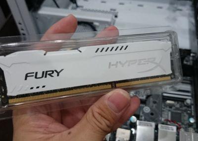 The 8GB Kingston HyperX Fury RAM
