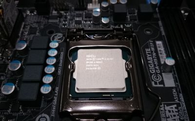 Start with installing the processor