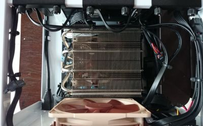 Plenty of room for good airflow