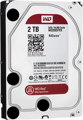 WD Red 2TB NAS Drive