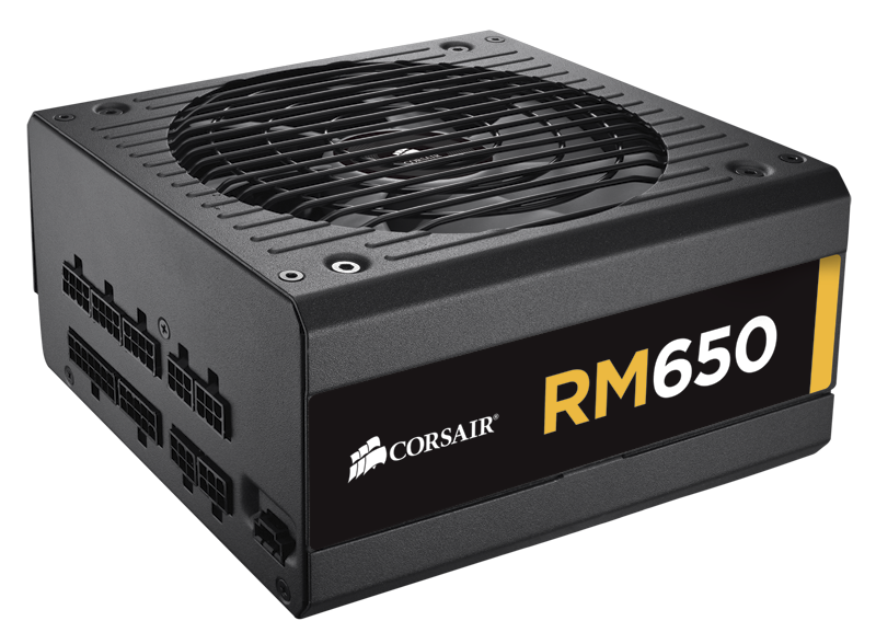 Corsair RM650 650 Watt 80 PLUS® Gold Certified Fully Modular PSU